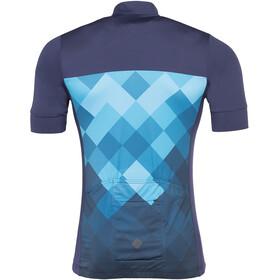 Triple2 Velozip Performance Pyöräilypaita Miehet, mykonos blue